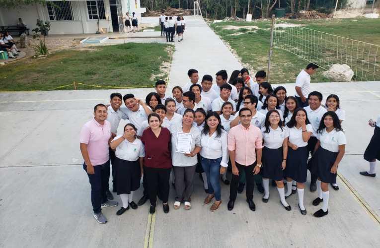 Imparte gobierno de Isla Mujeres pláticas sobre educación sexual a la comunidad estudiantil