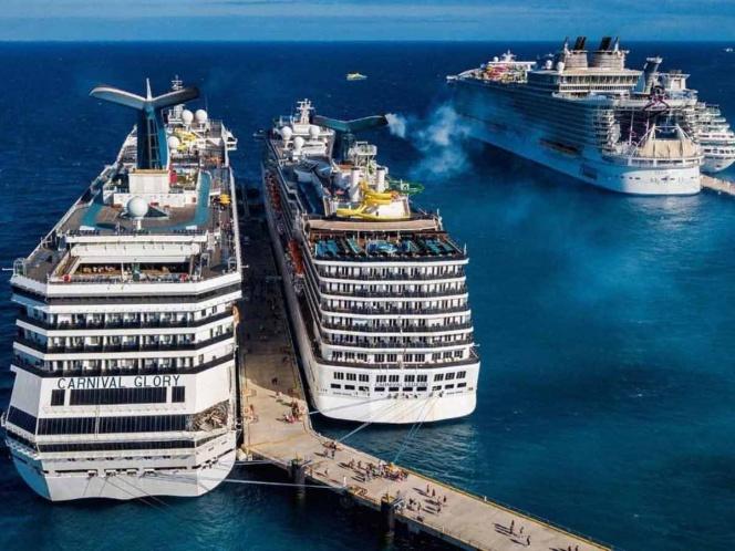En crucero hay pasajero con influenza, 'no es coronavirus': Marisol Vanegas