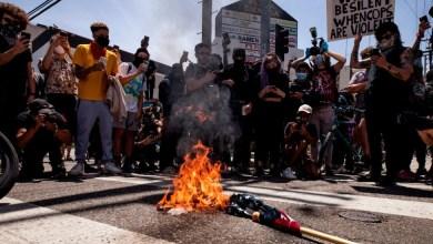 Photo of Más de 500 detenidos en Los Ángeles en protestas por la muerte de George Floyd