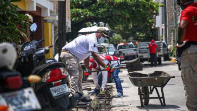 Photo of Trabaja intensamente Protección Civil de Isla Mujeres en limpieza de alcantarillas ante temporada de huracanes