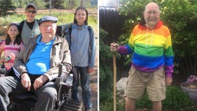 Photo of Este abuelito salió del clóset a los 90 años porque nunca es demasiado tarde para ser libre