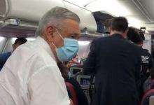 Photo of AMLO llega a Atlanta para hacer escala rumbo a Washington