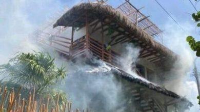 Photo of Se incendia hotel en Holbox