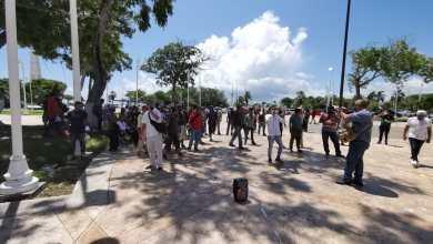 Photo of Transportistas de Playa del Carmen se manifiestan en Chetumal