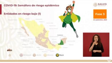 Photo of Campeche, el primer estado que cambia al semáforo verde de COVID-19