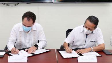 Photo of Quintana Roo firma con la SHCP un convenio para combatir delitos financieros y fiscales: Carlos Joaquín
