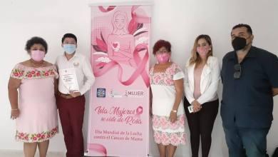 Photo of Imparten ciclo de conferencias por el «Día Internacional de la lucha contra el Cáncer de Mama»