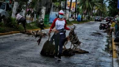 """Photo of Reporta Juan Carrillo saldo blanco en Isla Mujeres tras el paso del huracán """"Zeta"""""""