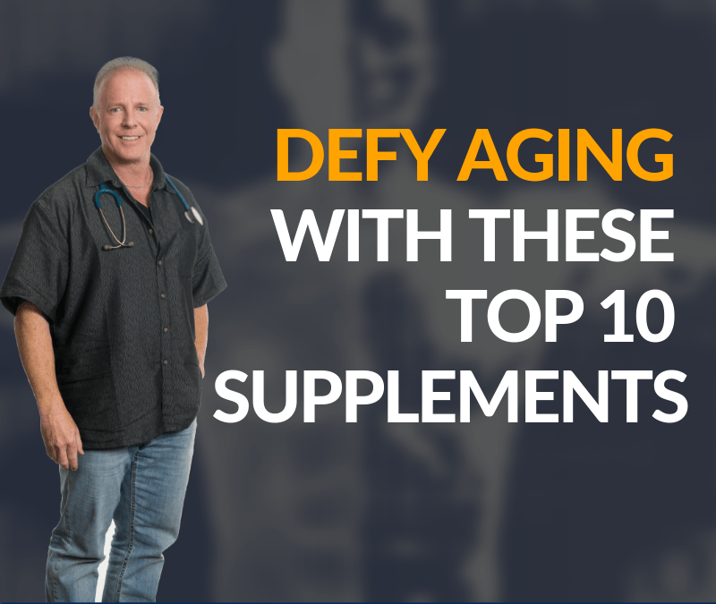RecoverMe Podcast: Defy Aging with these Top 10 Supplements #009