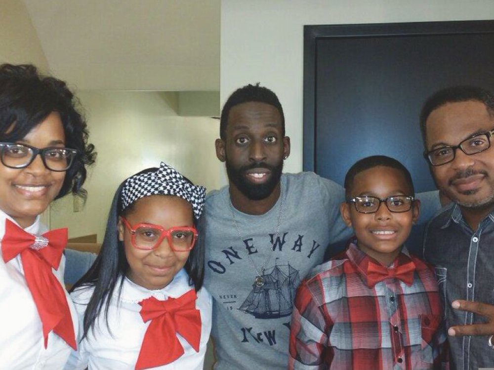 Tye Tribbett + Bishop Harris and Family