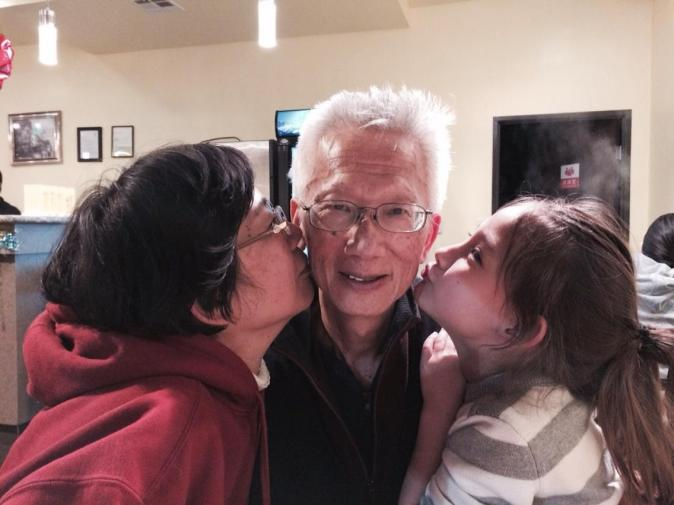 MWM loves her grand parents. Visiting Shanghai for the first time summer 2016.