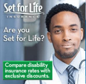 set for life ad man