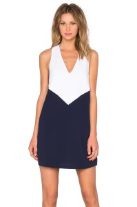 Maya Trapeze Color Block Dress on sale now + 15% cash back at Alice & Olivia
