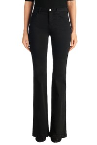 Dasha High Rise Flare in Black on sale now + 15% cash back at J Brand