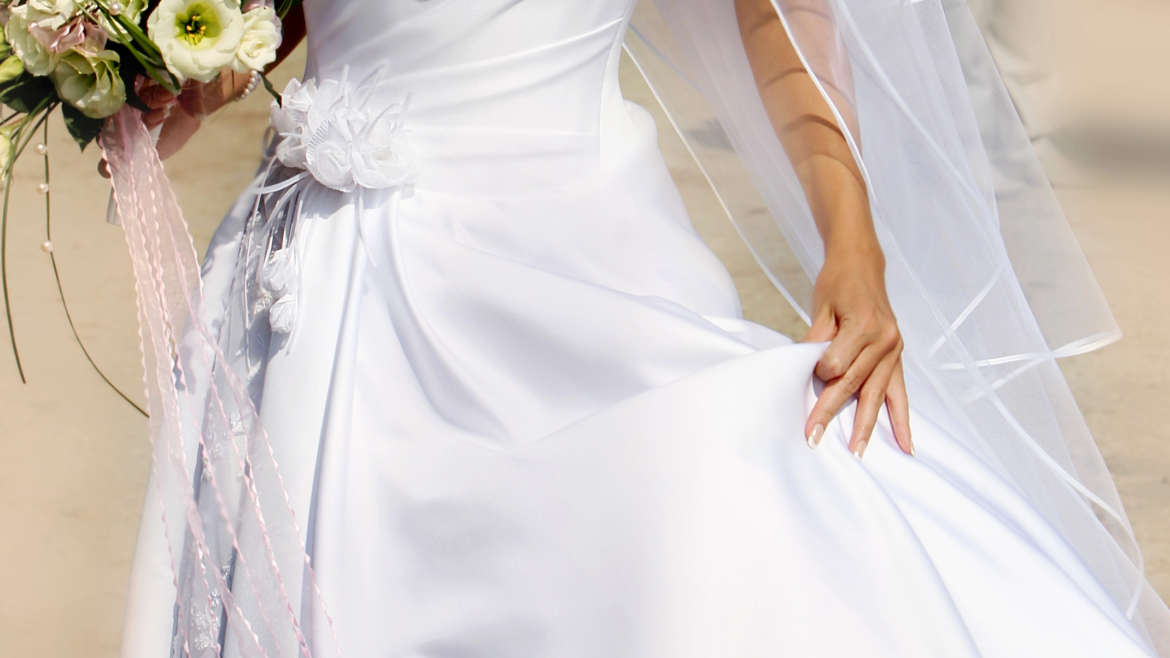 Wedding Dress Dry Cleaning & Preservation