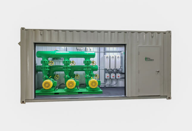 ExoShed Outdoor Mechanical Room
