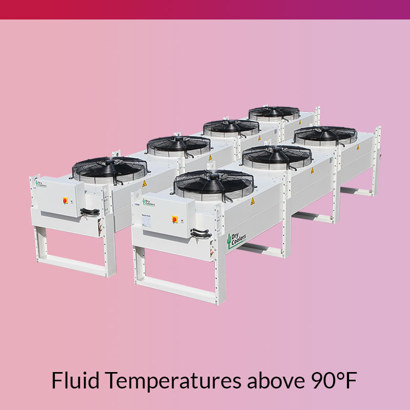 Air Cooled Heat Exchangers for Fluid Temperatures above 90F