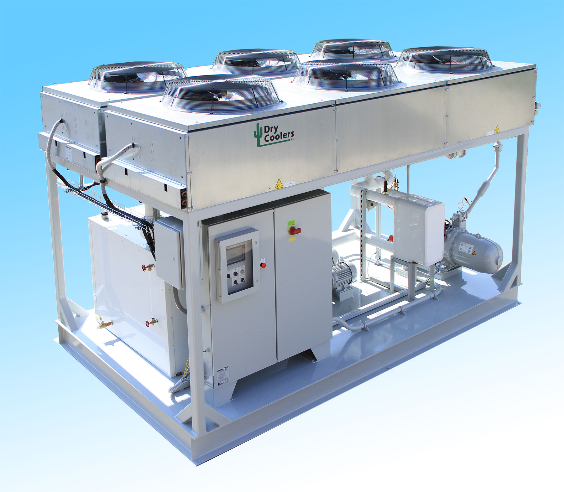 Omni-Chill IFC Series Mechanical Chiller with Integrated Free Cooler