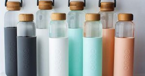 BEST REUSABLE GLASS WATER BOTTLE