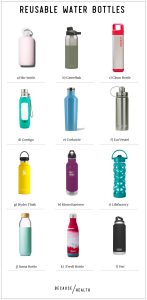 HEALTHY REUSABLE WATER BOTTLES