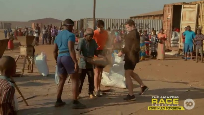 "Recap: The Amazing Race Australia 4, Episode 9 – ""Their bricks look like soggy poo."""