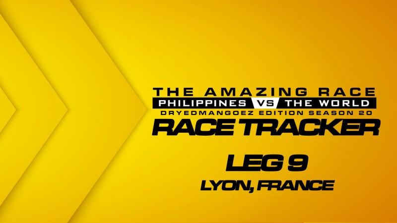 The Amazing Race Philippines vs The World (DryedMangoez Edition Season 20) Race Tracker – Leg 9