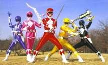 Power Rangers Then