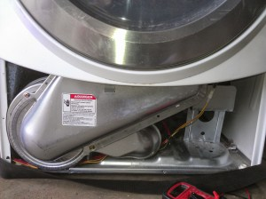 Where is the heating element on a Whirlpool Dryer?  Dryer Not Heating