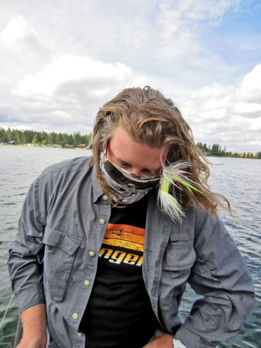 musky fly fishing eastern washington