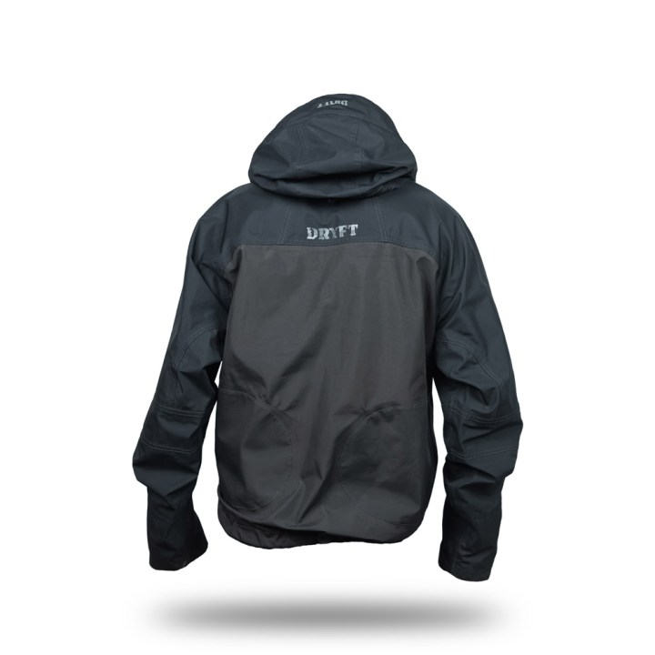 DRYFT Primo wading jacket hood down