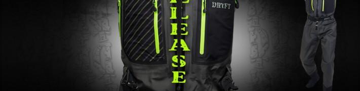 DRYFT Primo zip front wader