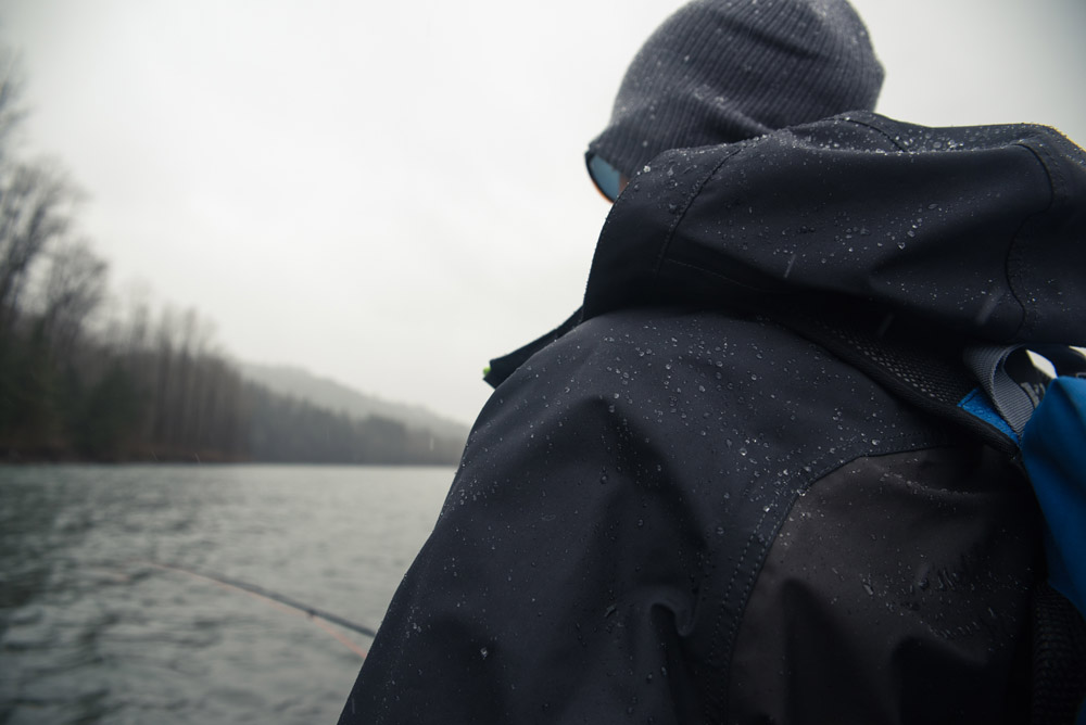 dryft primo jacket winter fishing