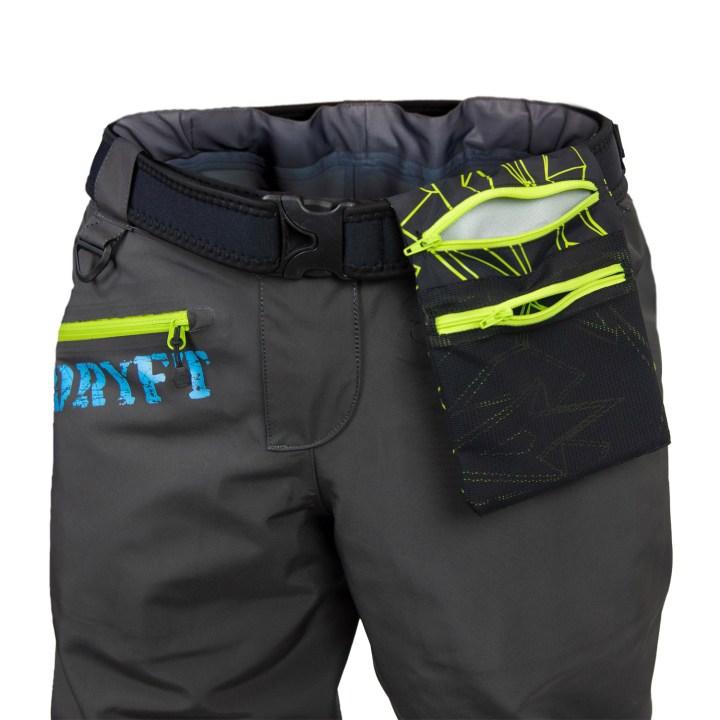 DRYFT Session GD wading pants front flip out pocket