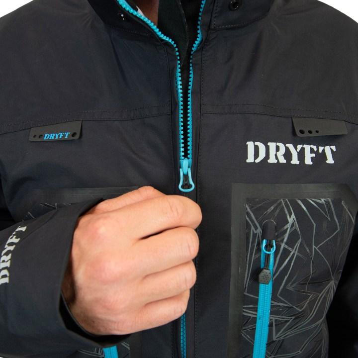 DRYFT Primo Rain Jacket mens front zipper