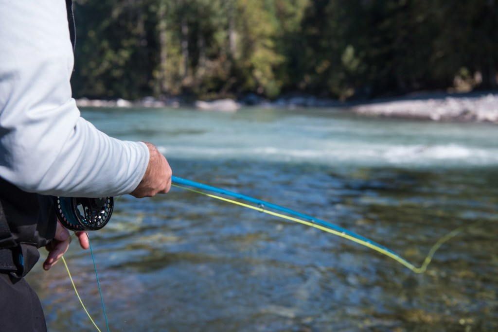 DRYFT S14 fishing waders - fall backcountry fishing