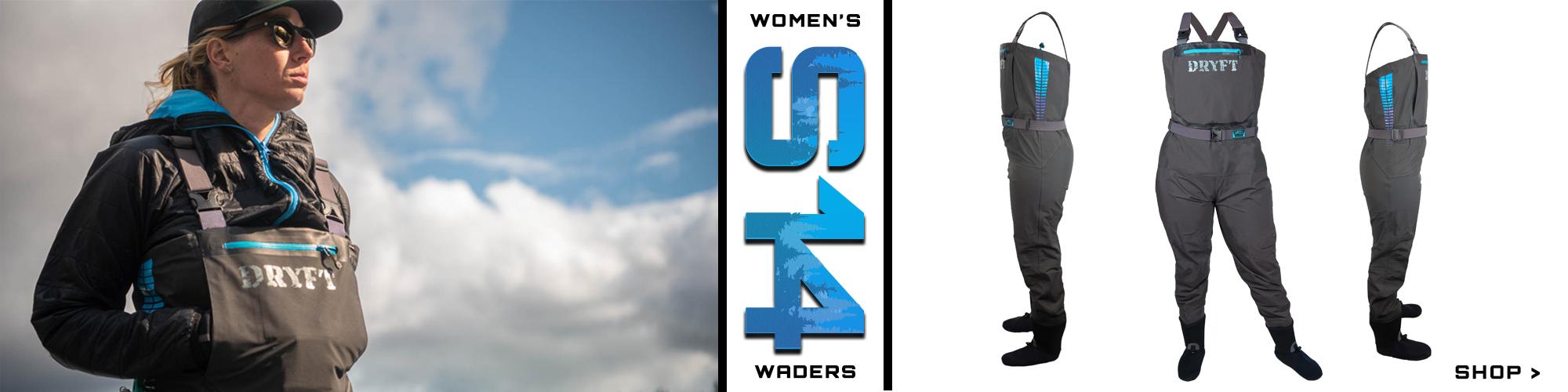 women's S14 DRYFT waders