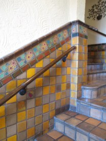 was this attractive tilework original?
