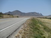 the Davis Mountains, no rush hour traffic here...as lush as it gets in the Trans Pecos