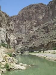 Boquillas Canyon...the Rio Grande, not the Rio Grande River