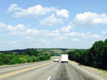 "E of Johnson City TX - 33.4"", live oak savannah, oak-juniper woodland, mixed grass prairie"