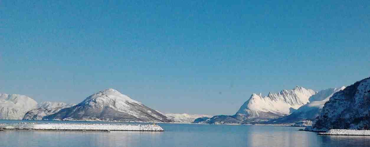 Cold Norwegian fishing ground