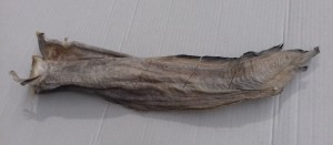 Stockfish tusk pre-cut