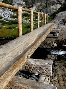 bridge at Garnet Lake
