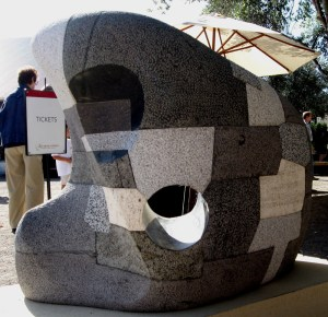 Stone Sculpture by Edwin Hamilton