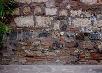Basalt, Limestone, and Brick