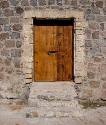 Door with Steps