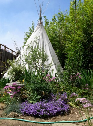The Tepee in May