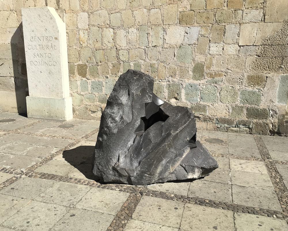 Basalt Stone Sculpture : Drystonegarden archive jorge yázpik basalt sculptures