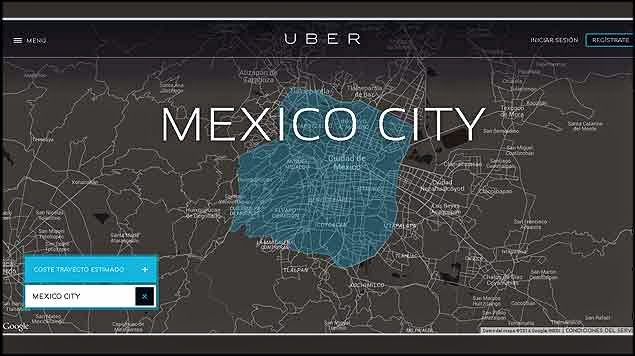 UberPOOL Mexique