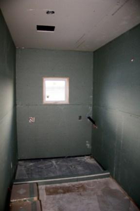 Upper Floor Drywall Installation (Bathroom)